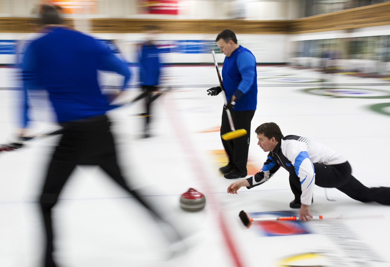 Team Solberg competes in the Men's Yukon Curling Championships to win a berth to the Briers.